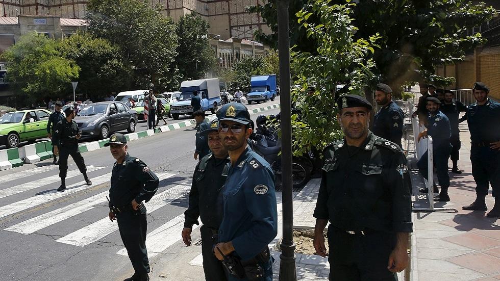 عناصر من الشرطة الإيرانية (صورة أرشيفية)