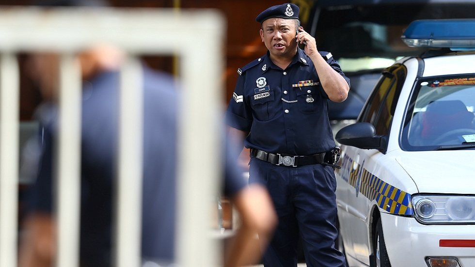 عنصر من الشرطة الماليزية (صورة أرشيفية)