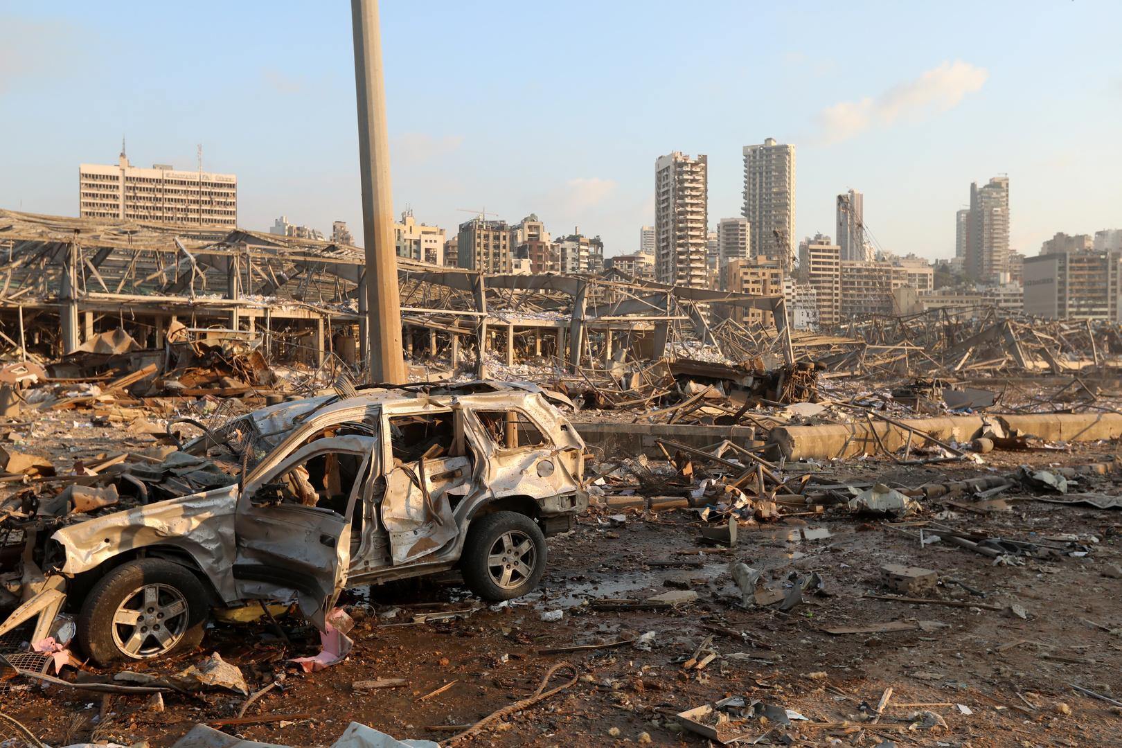 المجلس الأعلى للدفاع يعلن بيروت مدينة منكوبة
