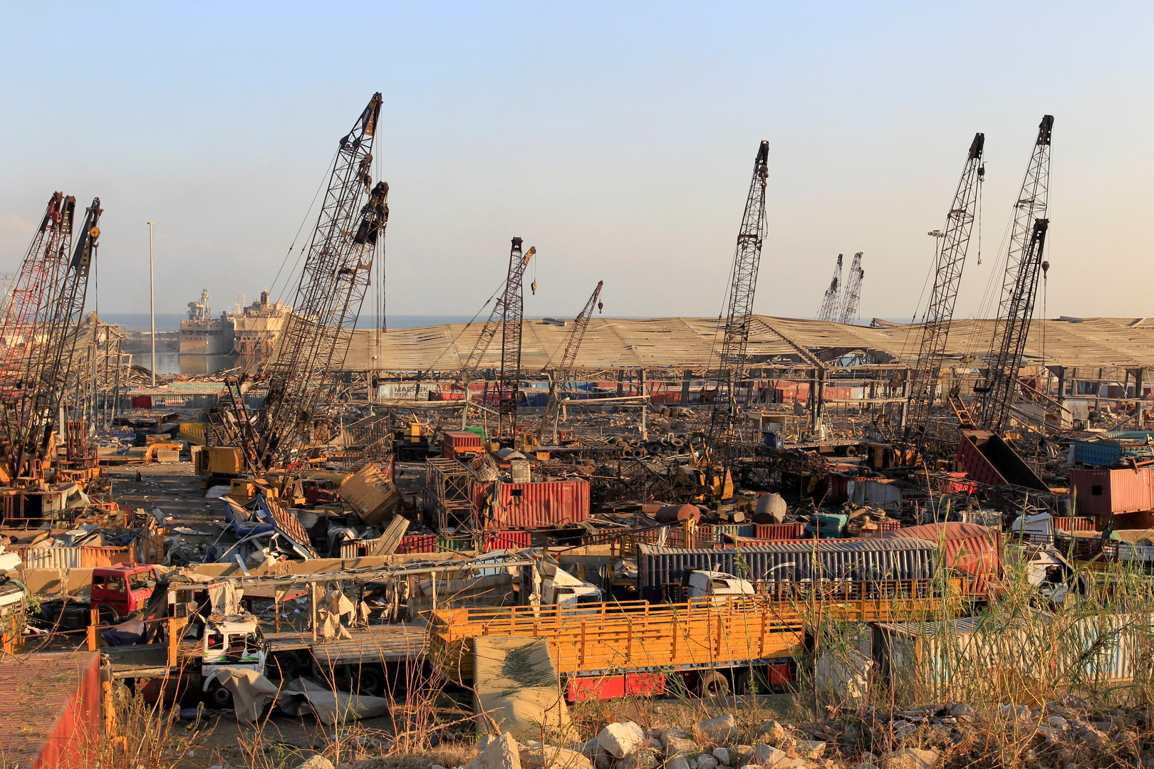 خبير اقتصادي: 80% من مرفأ بيروت تدمر