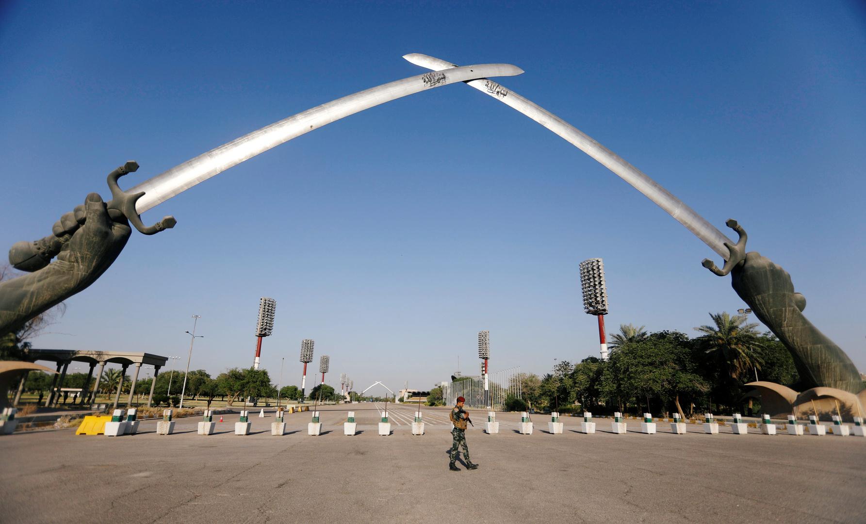 العراق.. سقوط صاروخ في محيط المنطقة الخضراء