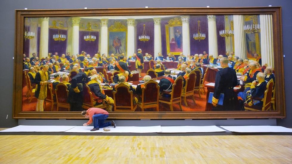 معرض افتراضي للفنان التشكيلي الروسي إيليا ريبين بمناسبة يوم مولده