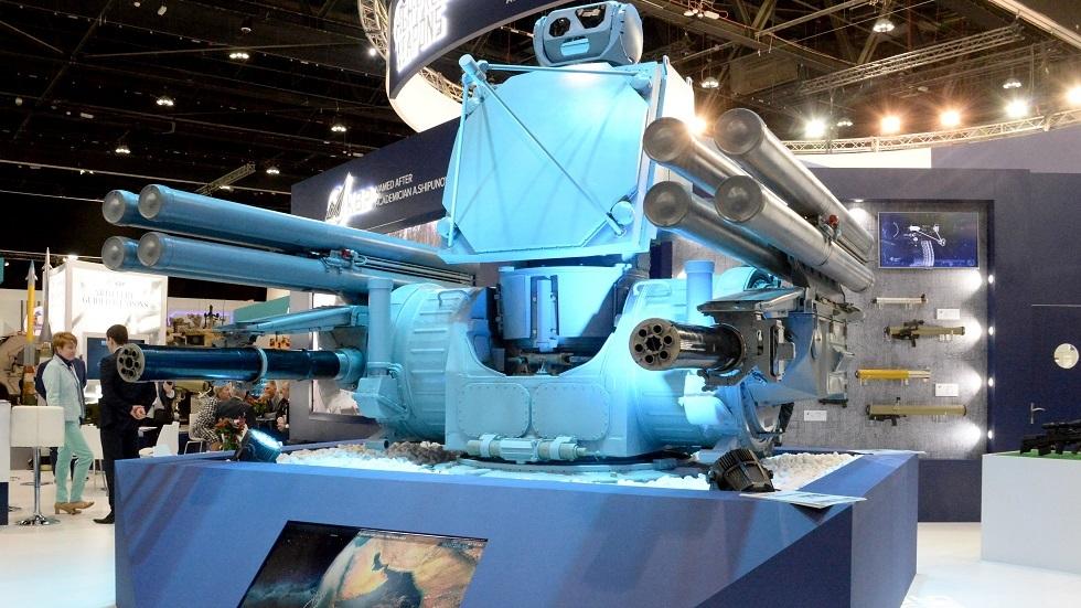 منظومة Pantsir-ME الروسية المخصصة للسفن الحربية