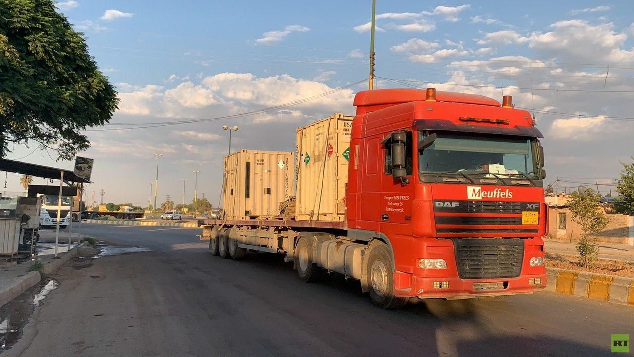 قافلة للتحالف الدولي تدخل مدينة القامشلي السورية (صور + فيديو)
