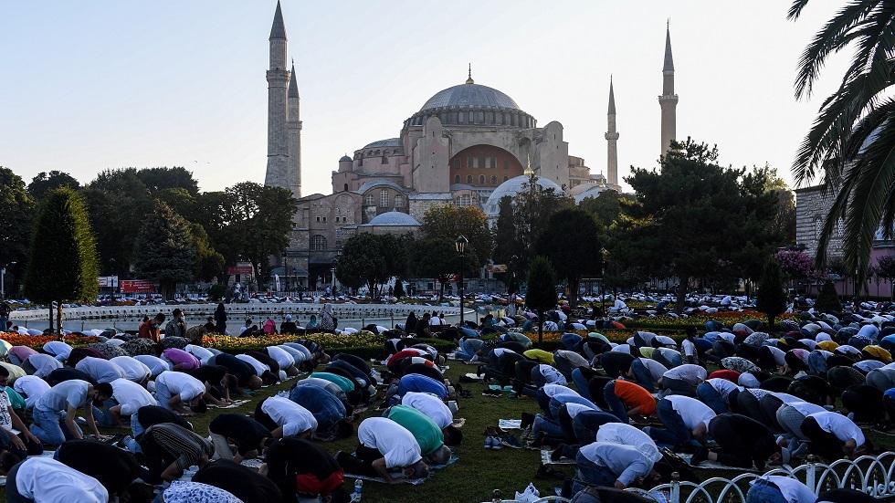 مسجد آيا صوفيا في تركيا