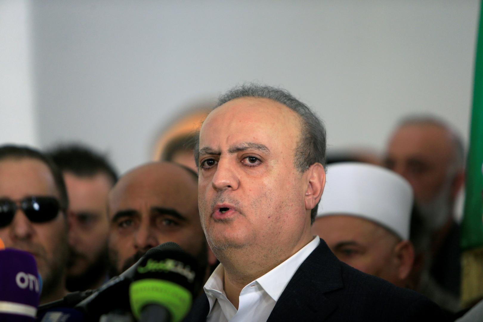 وئام وهاب يشكر العراق: المساعدات الأخرى ليست بحجم النكبة