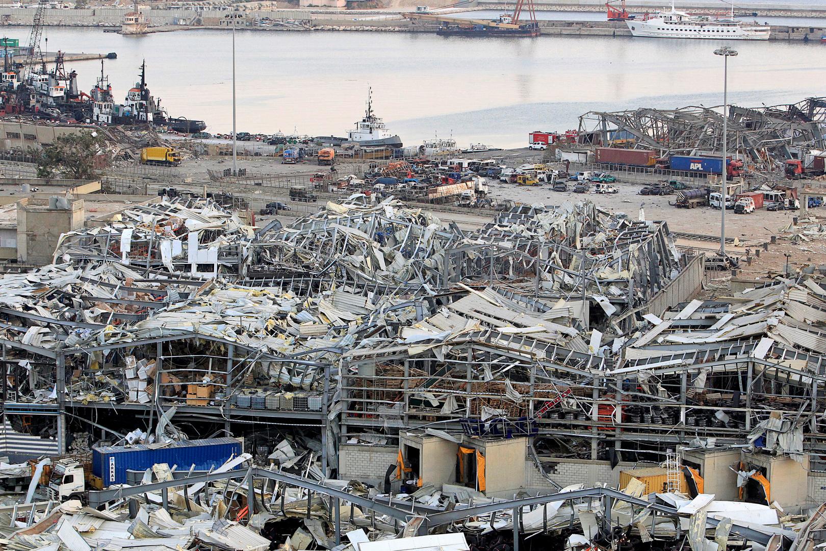 """مسؤول إسرائيلي سابق: انفجار بيروت قد يكون ناجما عن ذخائر لـ""""حزب الله"""""""