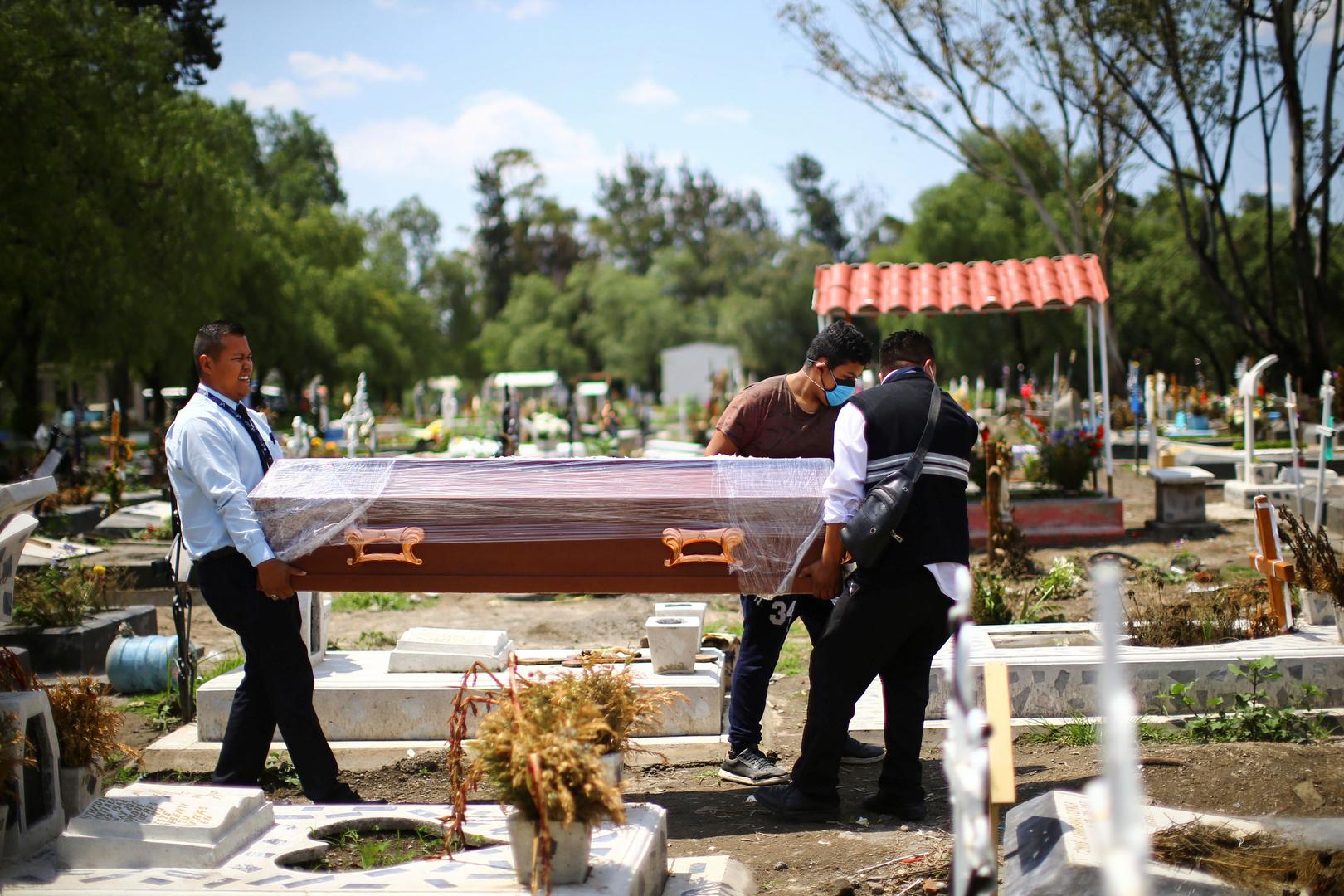 المكسيك.. حصيلة وفيات كورونا تتجاوز 50 ألفا