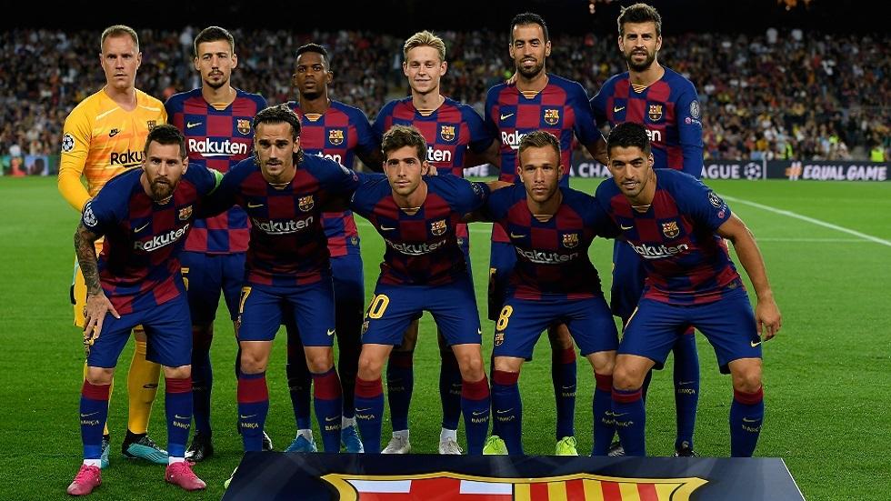 غياب لاعبين اثنين عن قائمة برشلونة لمواجهة نابولي