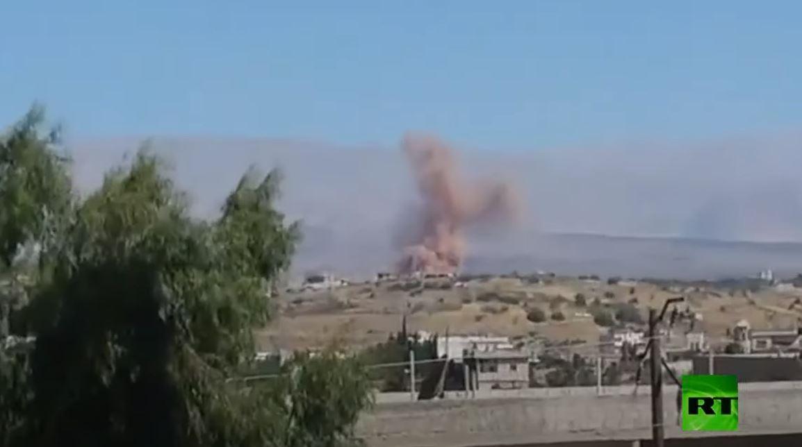 تفجير عبوات ناسفة في ريف القنيطرة السورية