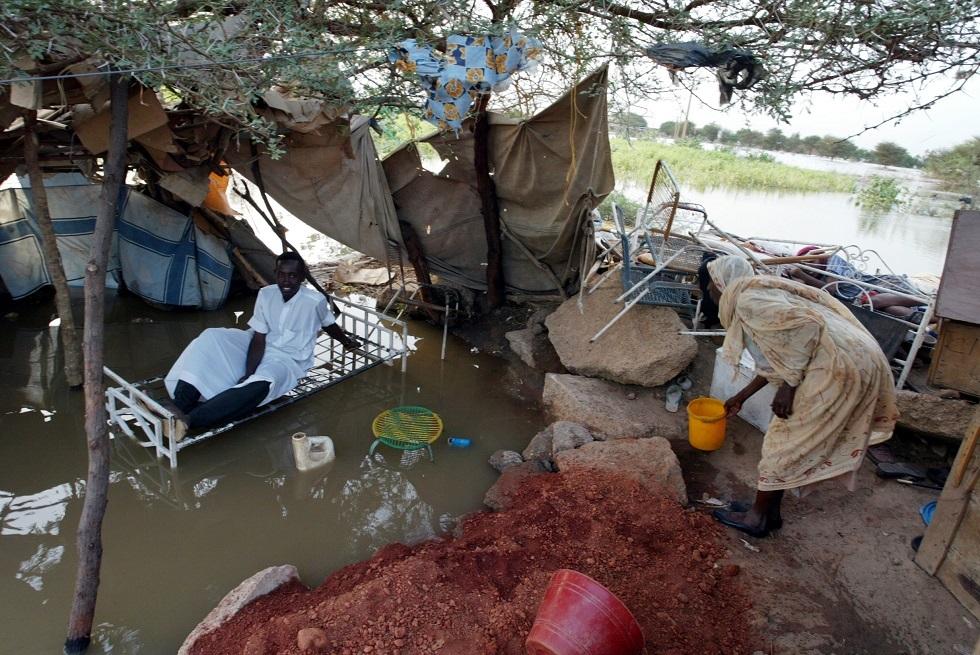 فيضانات في السودان -أرشيف-