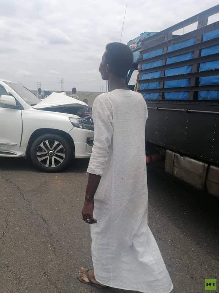 السودان.. تعرض موكب مجلس السيادة الانتقالي لحادث مرور (صورة)