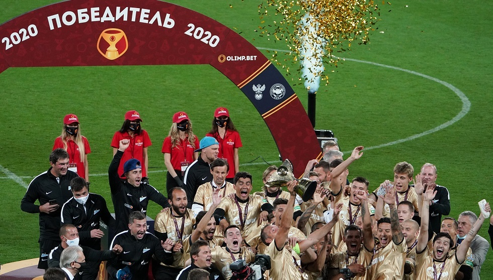 زينيت بطرسبورغ يفوز بالثلاثية الذهبية (فيديو)