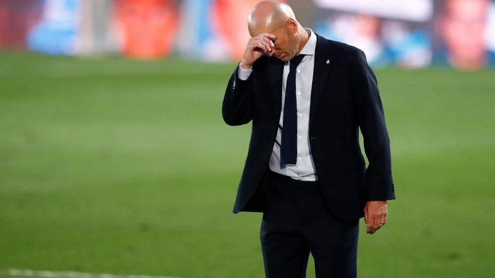 زيدان يكشف مستقبله مع ريال مدريد بعد الخسارة أمام