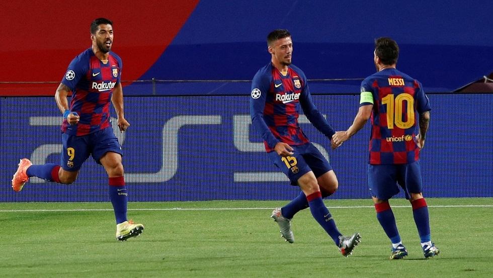 برشلونة يهزم نابولي ويبلغ ربع نهائي دوري أبطال أوروبا