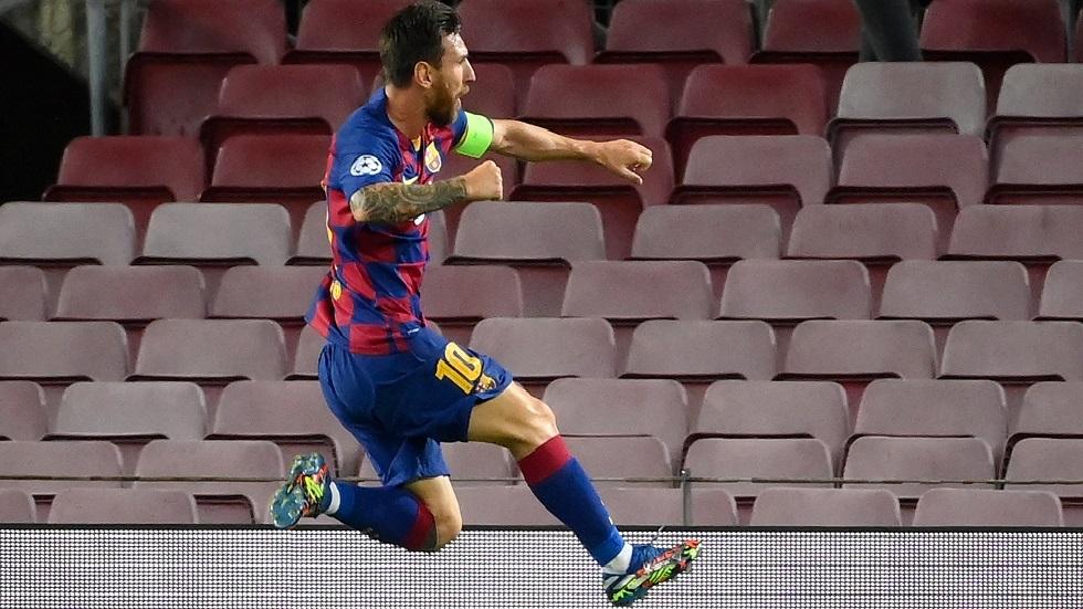 أول تعليق لميسي بعد تأهل برشلونة إلى ربع نهائي دوري الأبطال