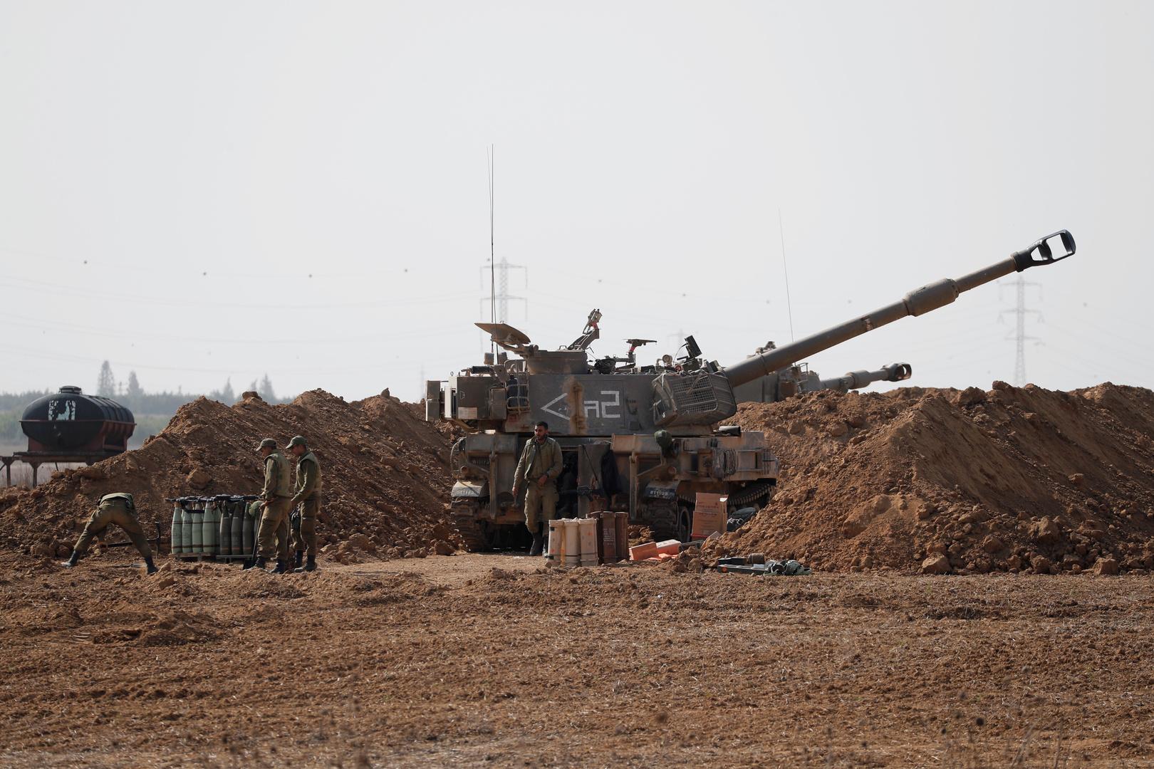 المدفعية الإسرائيلية تقصف مواقع في قطاع غزة