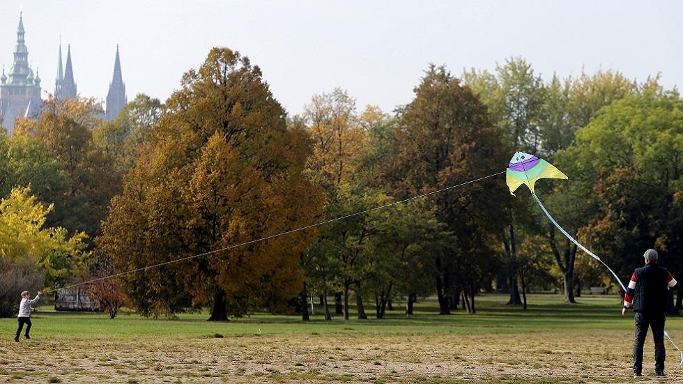 منتزه في براغ (صورة أرشيفية)