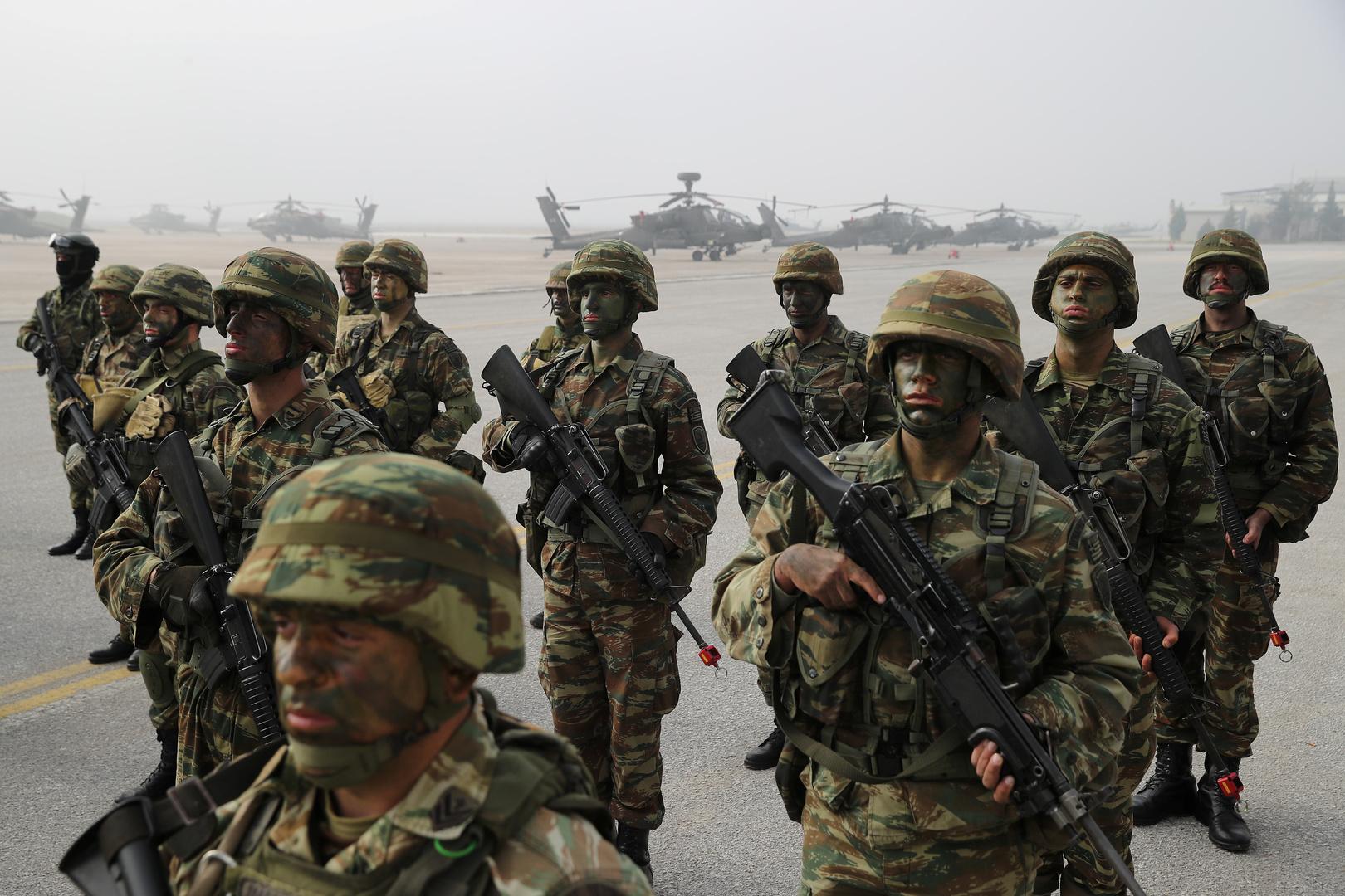 وسائل إعلام: استنفار الجيش اليوناني قبيل تدريبات تركية في شرق المتوسط
