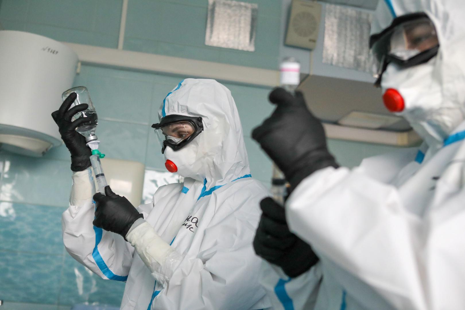 روسيا تسجل 70 وفاة و5118 إصابة جديدة بفيروس كورونا خلال الساعات الـ24 الماضية