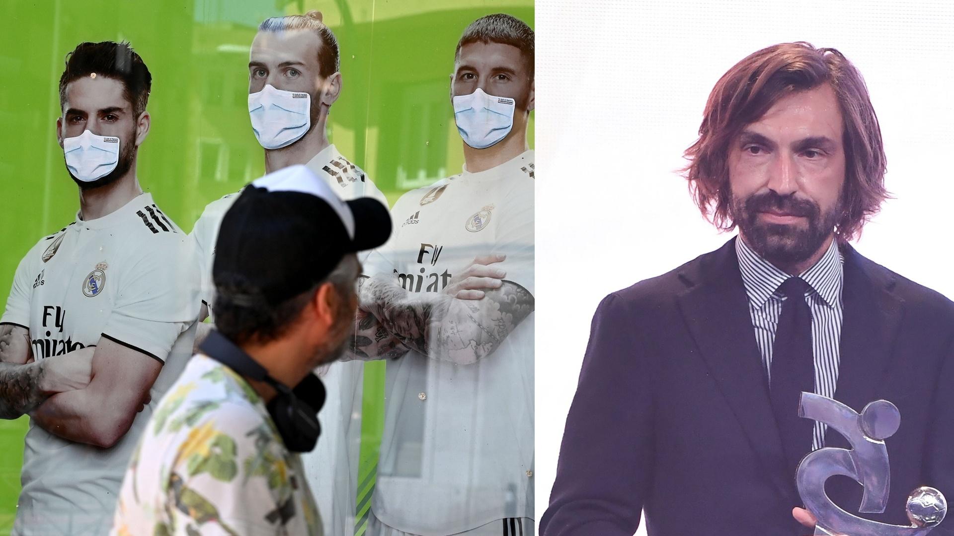 بيرلو يبدأ تحركاته في سوق الانتقالات نحو نجم ريال مدريد