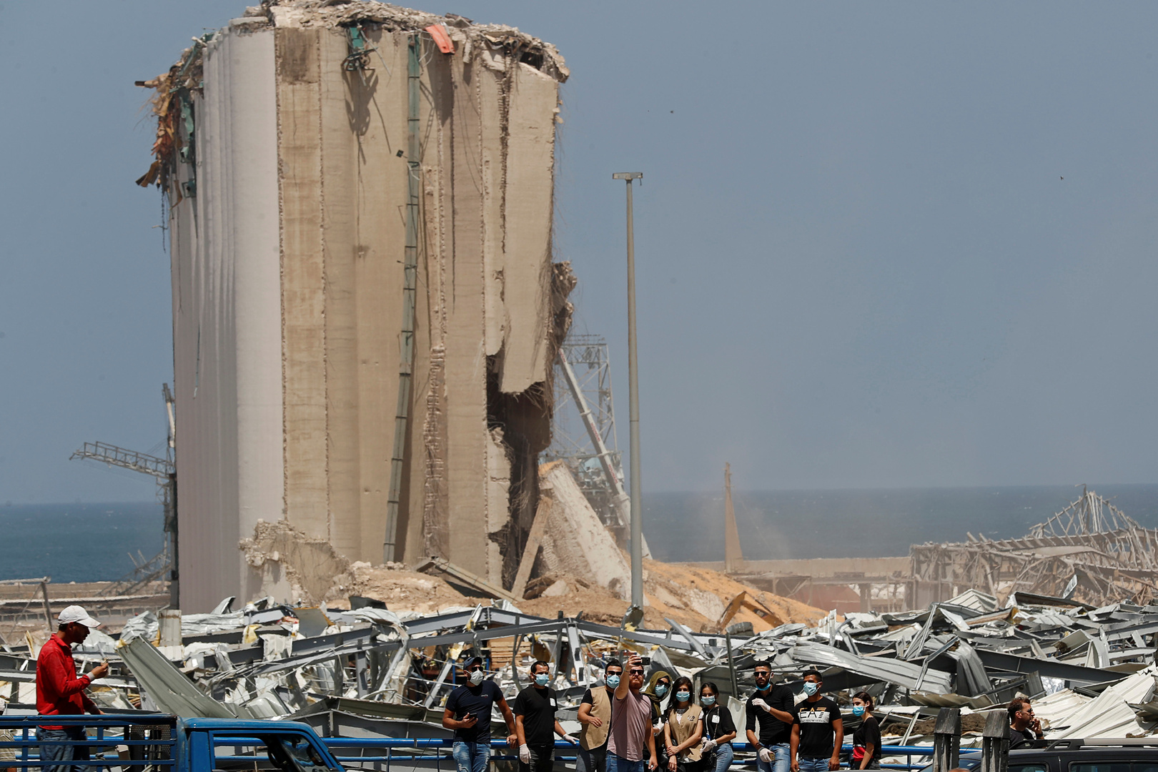ارتفاع ضحايا انفجار بيروت إلى 160 قتيلا و20 مفقودا
