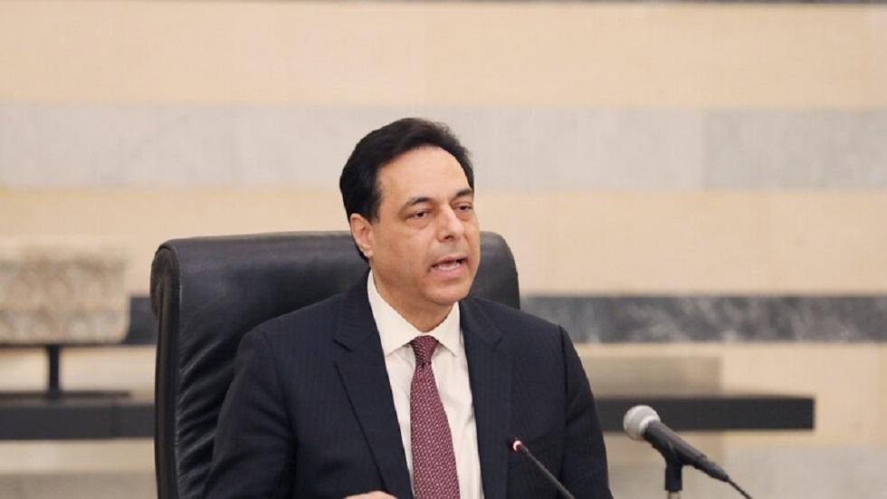 رئيس حكومة لبنان حسان دياب