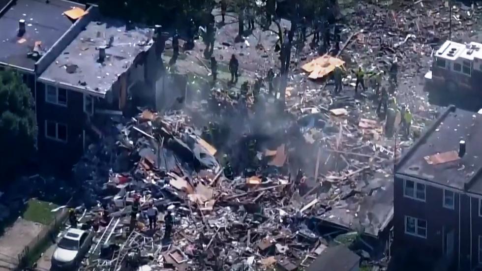 وسائل إعلام: انفجار قوي في حي بمدينة بالتيمور الأمريكية يسوي المنازل أرضا