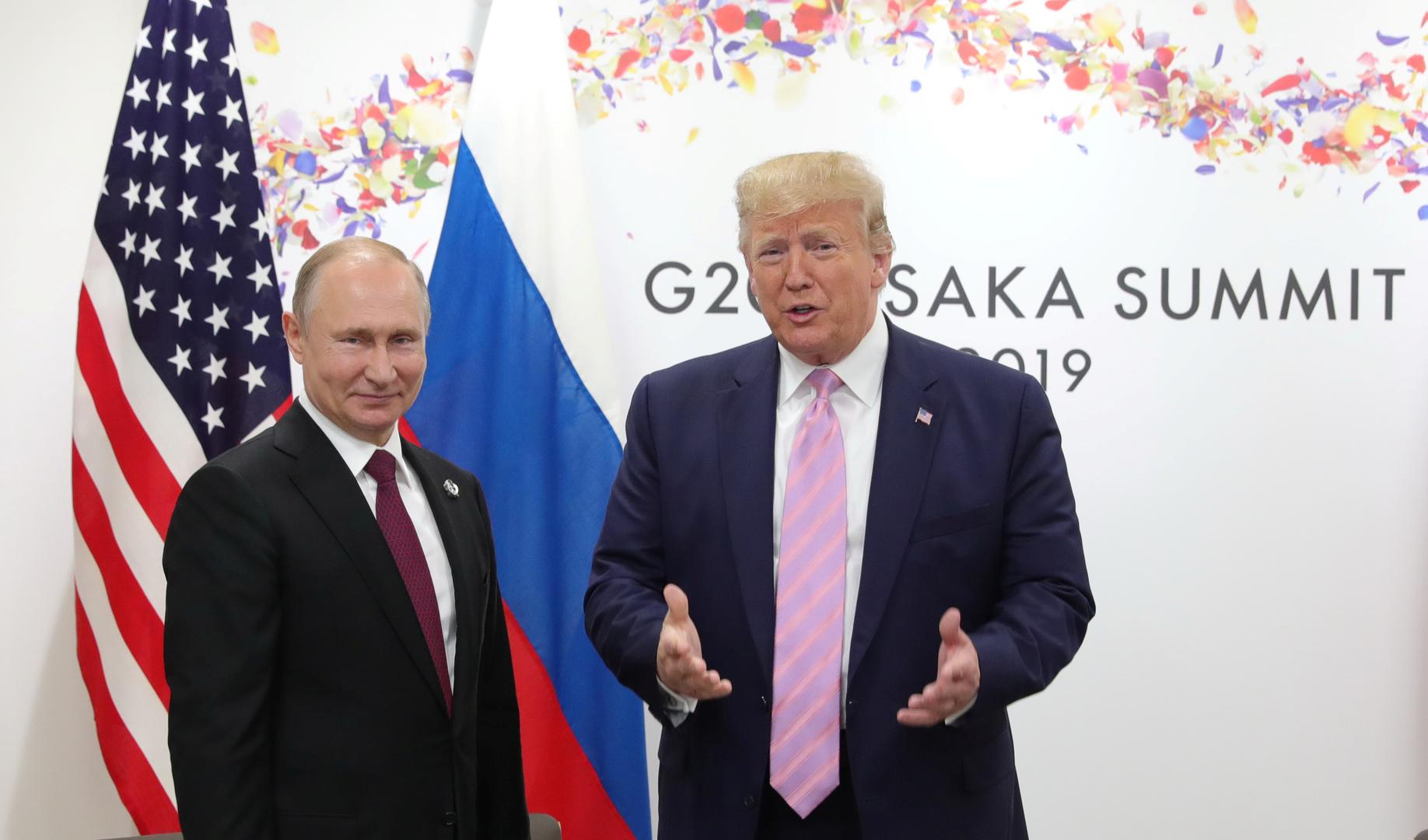 الولايات المتحدة تريد إعادة روسيا إلى نادي النخبة