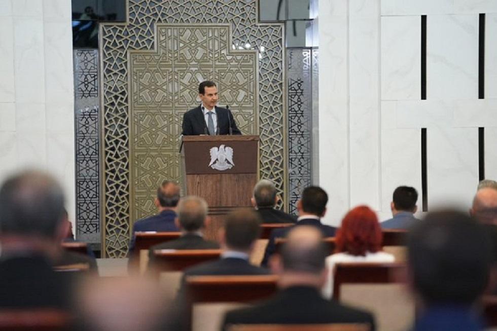 الأسد: سعر الصرف كان يخضع للمضاربة والعامل الوحيد المؤثر كان الهلع الشعبي