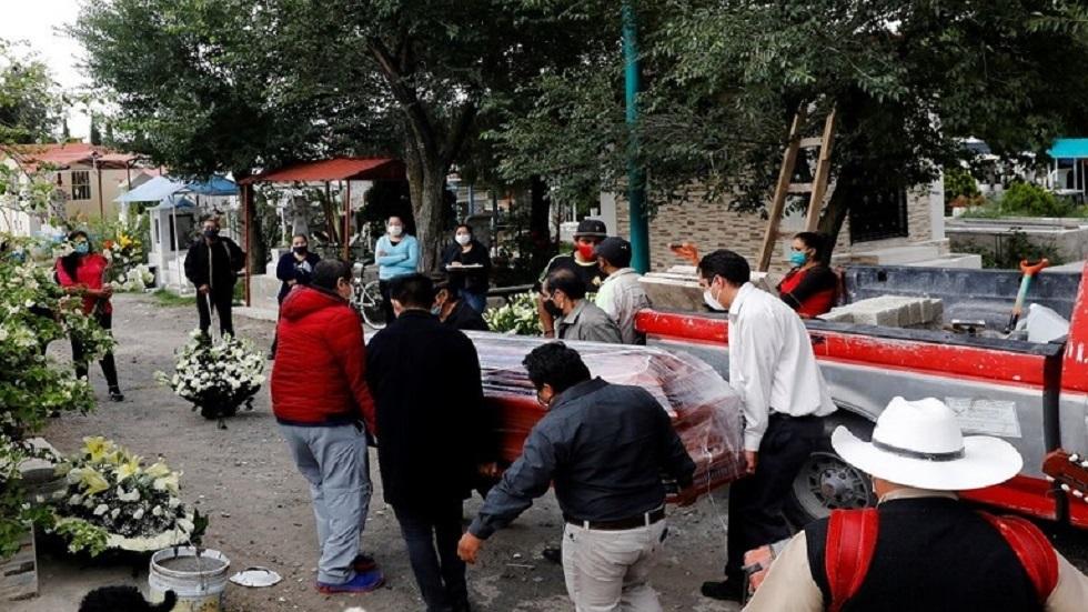 المكسيك.. 737 حالة وفاة و5858 إصابة جديدة بفيروس كورونا المستجد