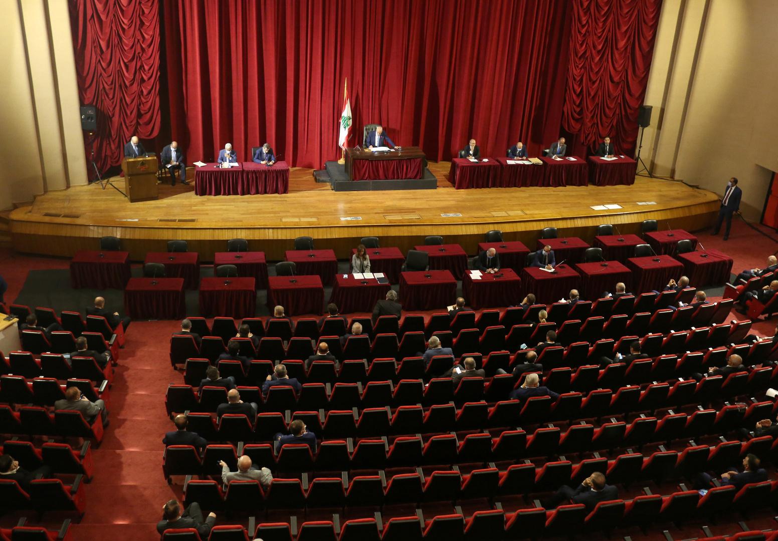 البرلمان اللبناني يقر إعلان حالة الطوارئ في بيروت