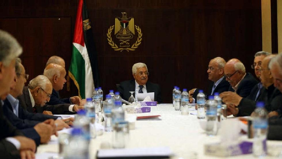 اجتماع السلطة الفلسطينية - أرشيف
