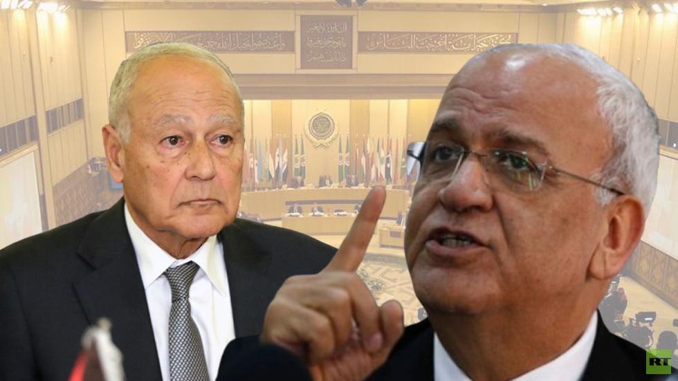 عريقات يطالب أمين عام الجامعة العربية بإدانة الاتفاق الإسرائيلي الإماراتي أو الاستقالة