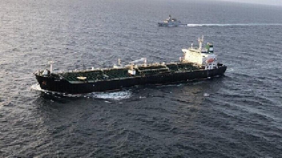 ناقلة النفط الإيرانية في المياه الإقليمية لفنزويلا - أرشيف -