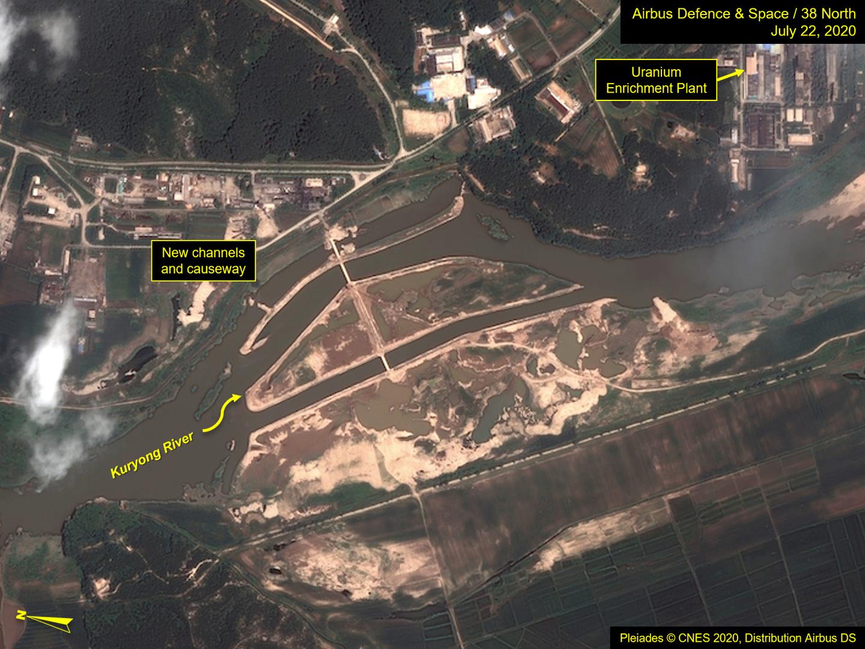 بالصور.. أقمار اصطناعية تكشف تضرر الموقع النووي الرئيس في كوريا الشمالية