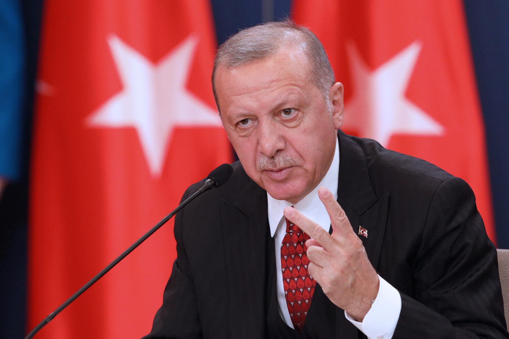 أردوغان يبحث تعليق العلاقات الدبلوماسية مع أبو ظبي وسحب السفير