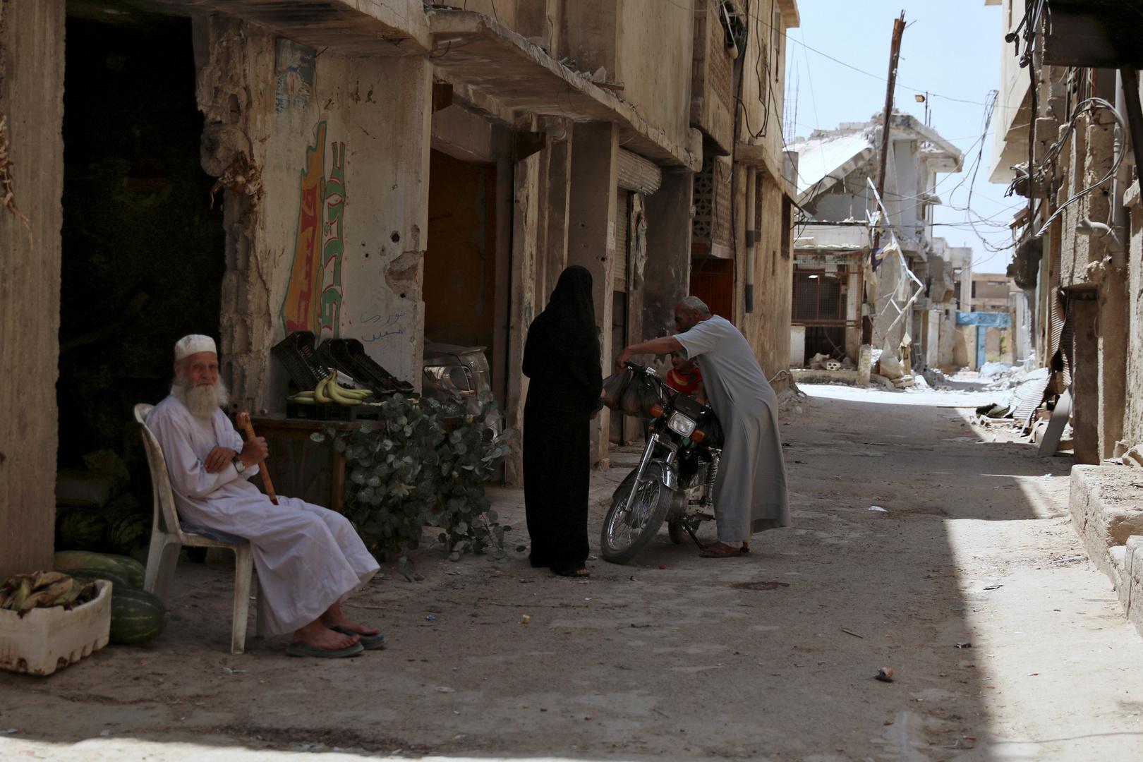 منطقة درعا جنوب سوريا، صورة من الأرشيف