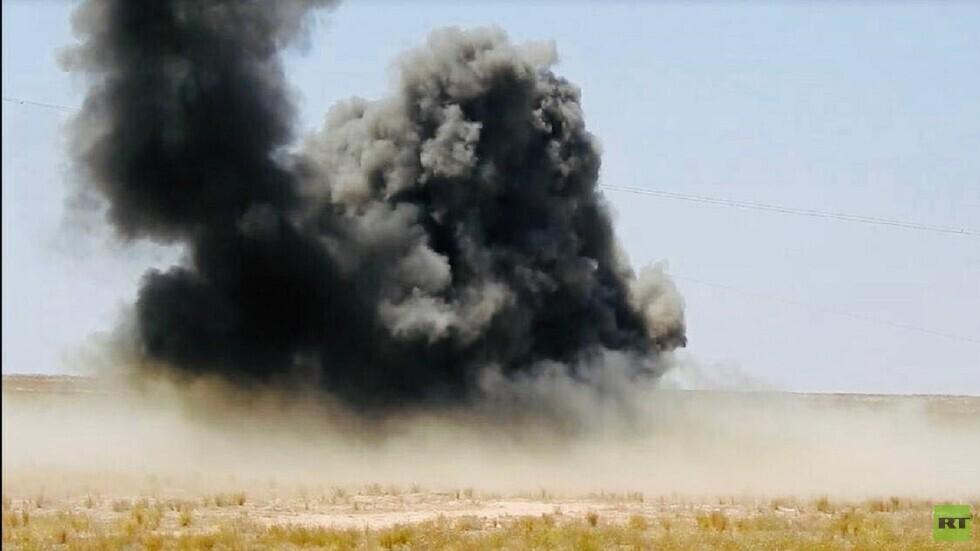 العراق.. انفجار يستهدف رتلا يقدم دعما لوجستيا للتحالف الدولي