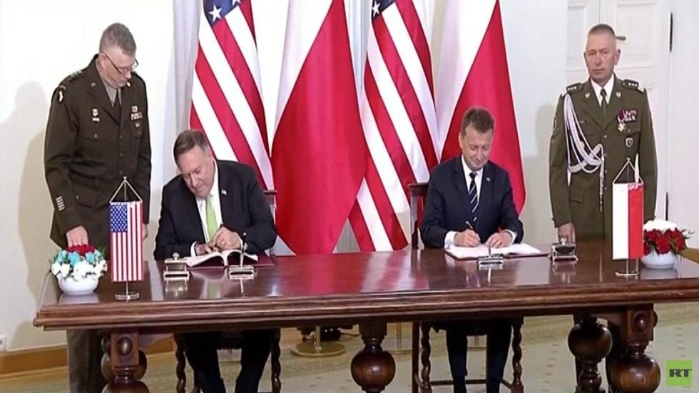 اتفاق على نشر 1000 جندي أمريكي في بولندا