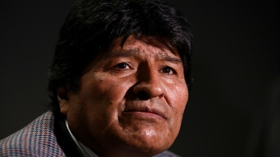 الرئيس البوليفي السابق إيفو موراليس