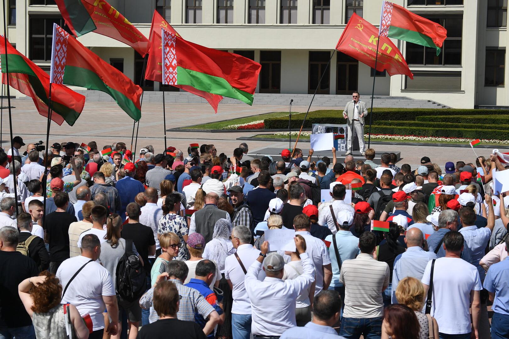 لن يكون هناك ميدان في بيلاروسيا