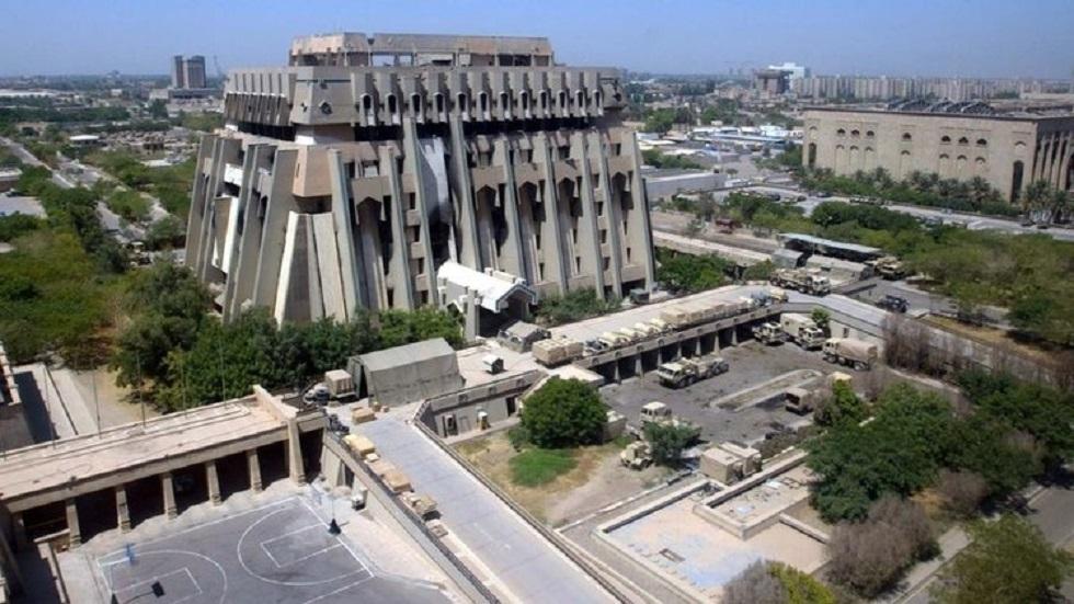 المنطقة الخضراء وسط العاصمة بغداد - أرشيف