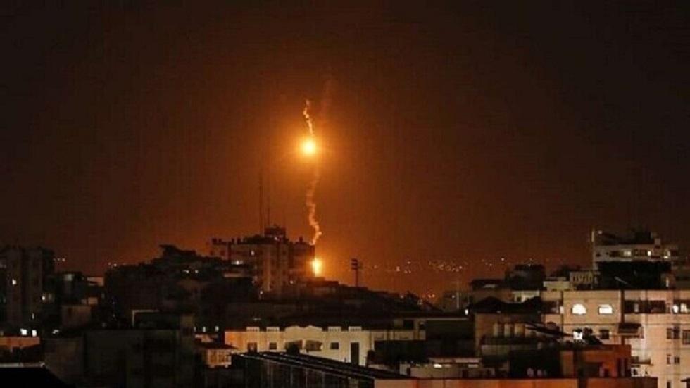 القصف الإسرائيلي على قطاع غزة - أرشيف
