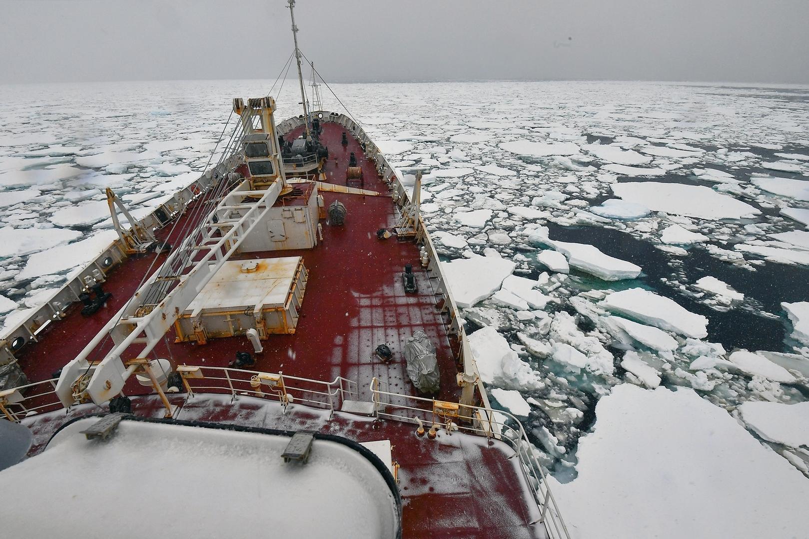 روسيا تعلن عن استراتيجية جديدة في أنتاركتيكا