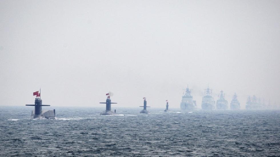 الأسطول الصيني في بحر الصين الجنوبي - أرشيف