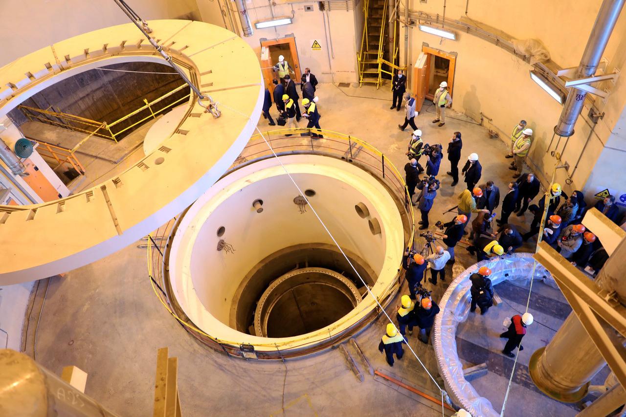 مفاعل أراك لإنتاج الماء الثقيل في إيران
