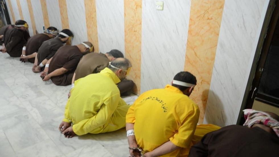 معتقلون لدى القوات العراقية