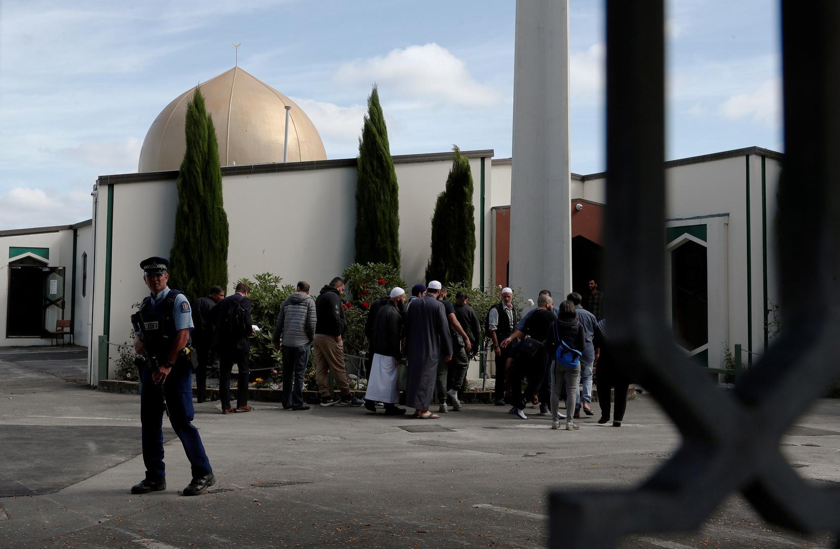 مسجد النور الذي تعرض للهجوم في كرايستشيرش
