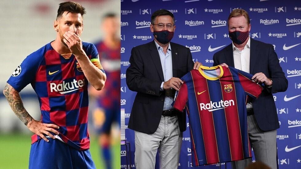 صحيفة أرجنتينية تكشف سر غضب ميسي من إدارة برشلونة
